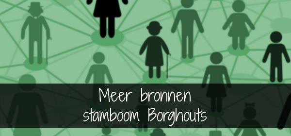 bronnen stamboom Borghouts