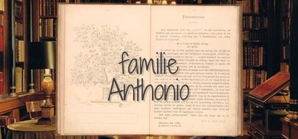 familie Anthonio