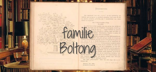 familie Boltong
