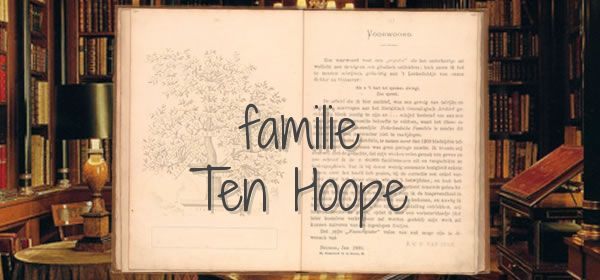 familie Ten Hoope