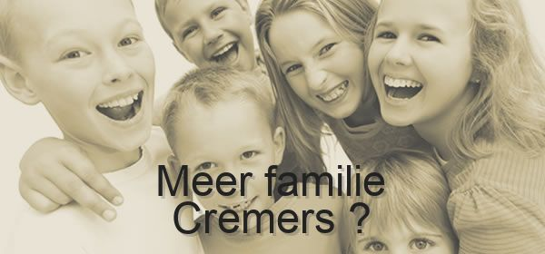 meer familie Cremers