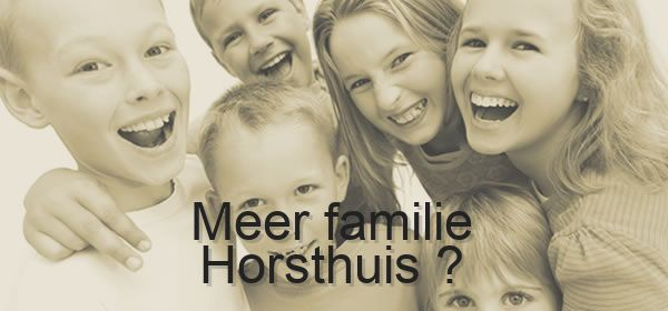 meer familie Horsthuis