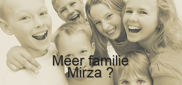 meer familie Mirza
