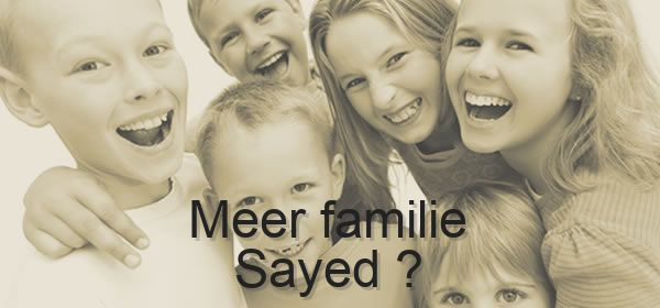 meer familie Sayed