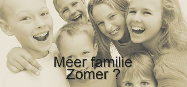 meer familie Zomer