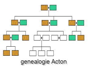 genealogie Acton