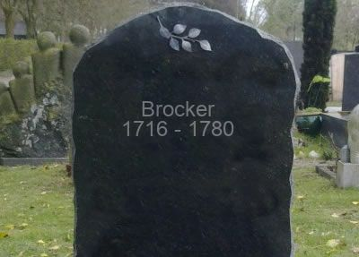 overleden Brocker