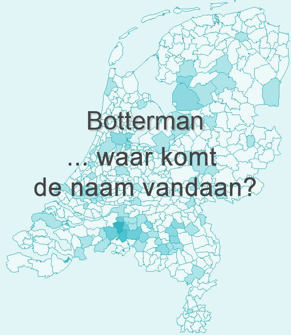 De naam Botterman