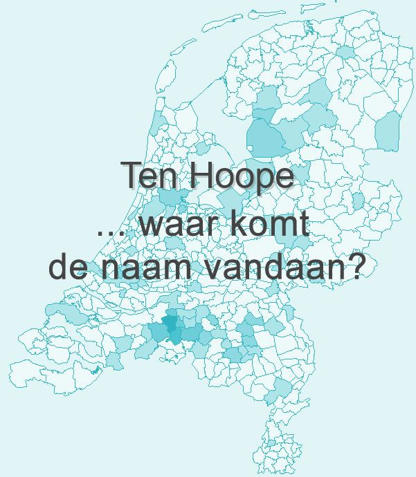 De naam Ten Hoope
