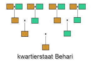 kwartierstaat Behari