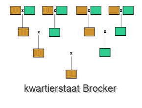 kwartierstaat Brocker