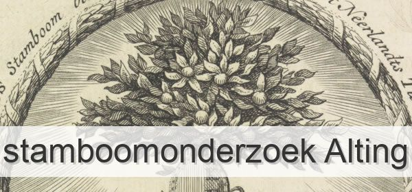 Stamboomonderzoek Alting