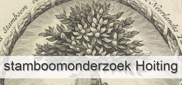 Stamboomonderzoek Hoiting