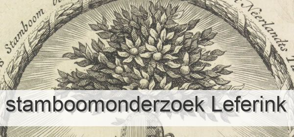 Stamboomonderzoek Leferink