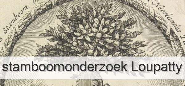 Stamboomonderzoek Loupatty