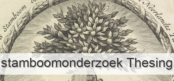 Stamboomonderzoek Thesing