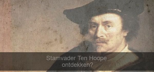 stamvader Ten Hoope